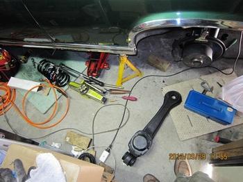 1,トレーリングアーム修理.JPG