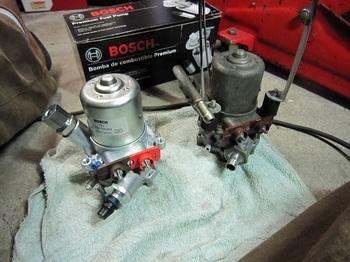 3、,fuel pump 新旧品.JPG